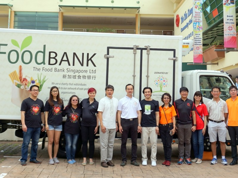 20160528 Launch of Foodbank Truck 11